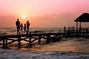 Beach Children Family